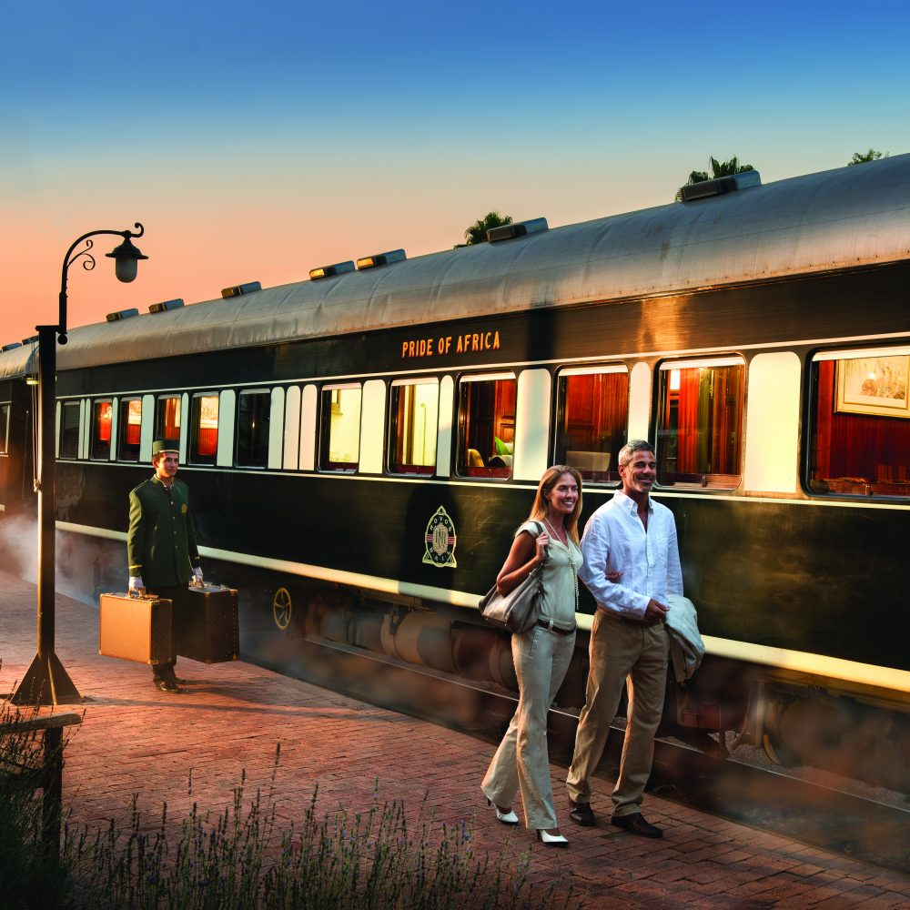 Rovos Rail is most luxurious train in South Africa