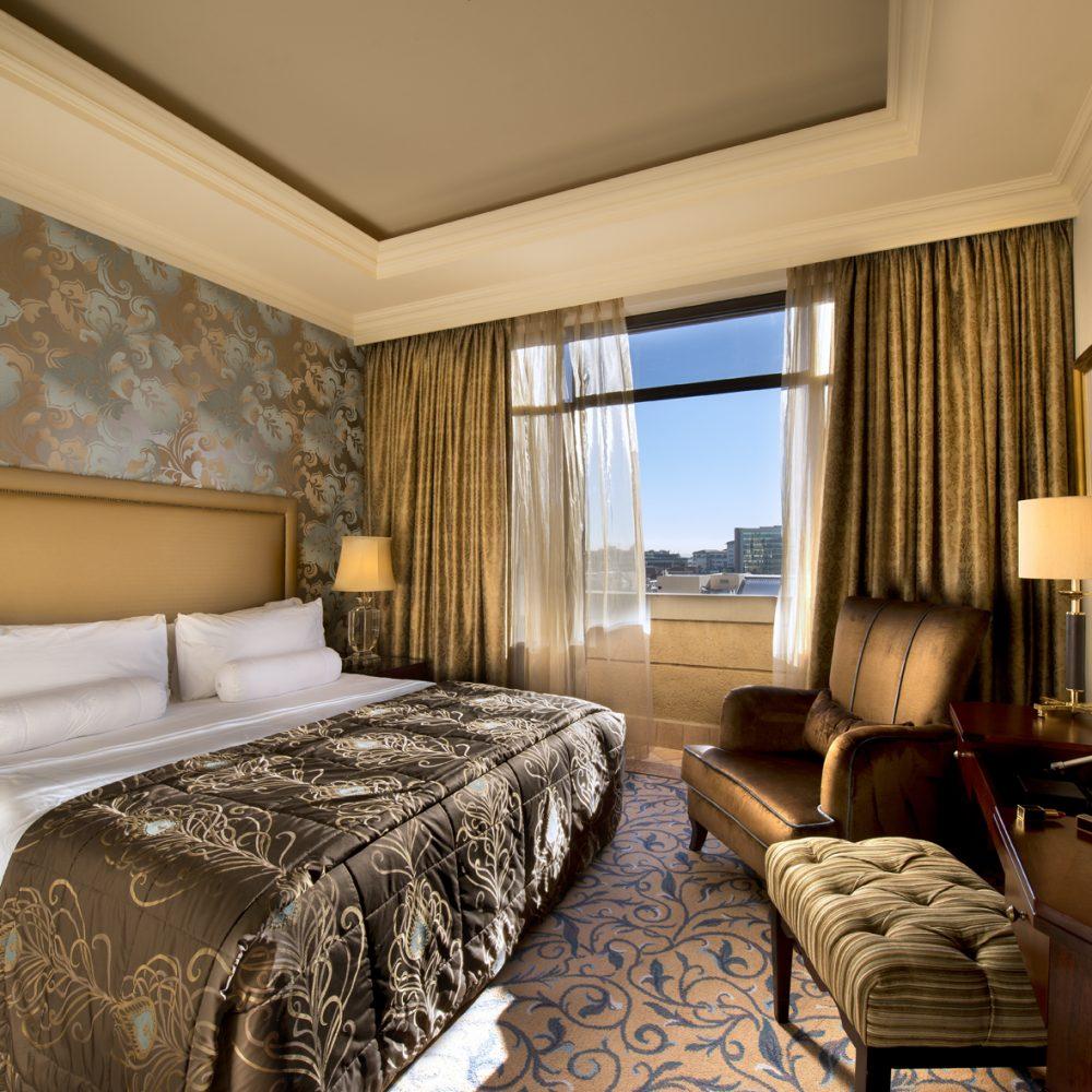 Michelangelo Hotel Premier Suite Bedroom